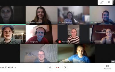 Online stretnutie Študentskej časti AS SvF