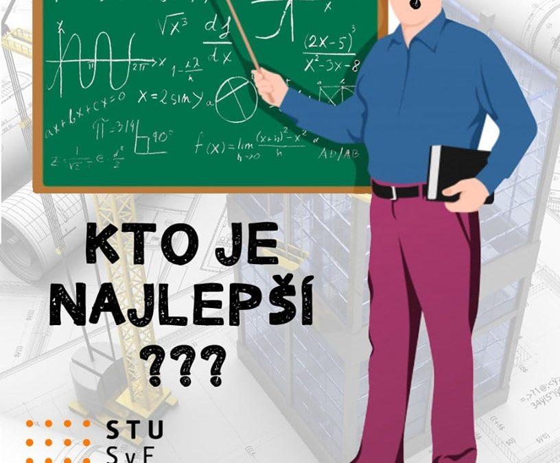 Učiteľ roka na STU